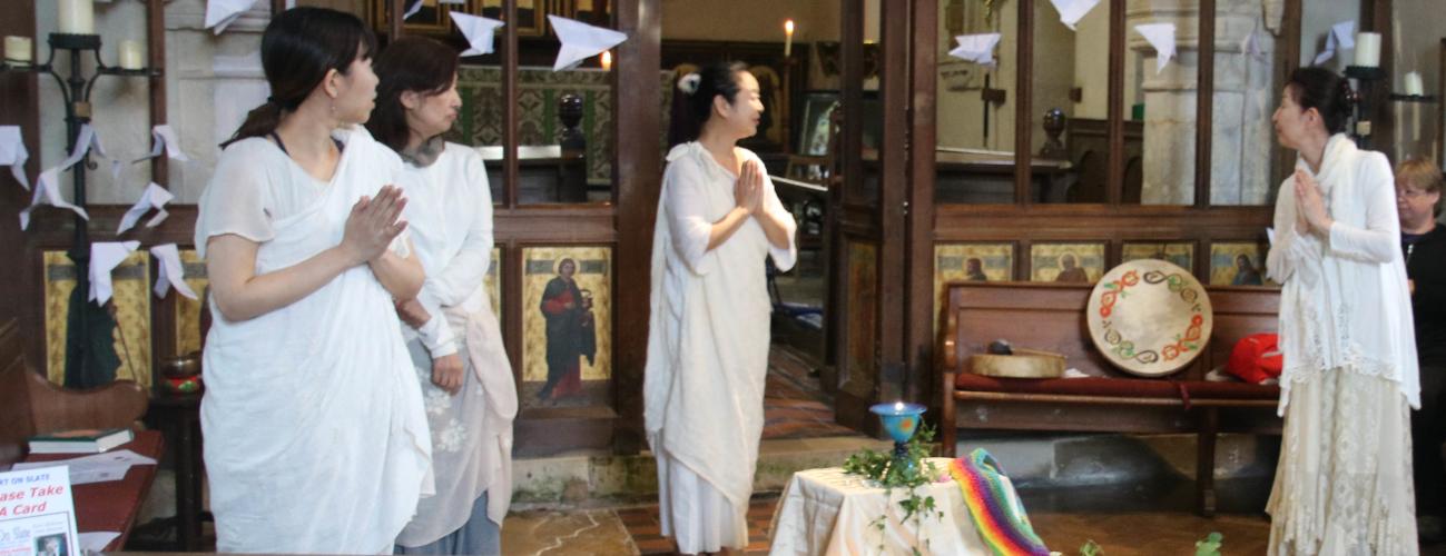 Japanese Christians honour Christ in worship