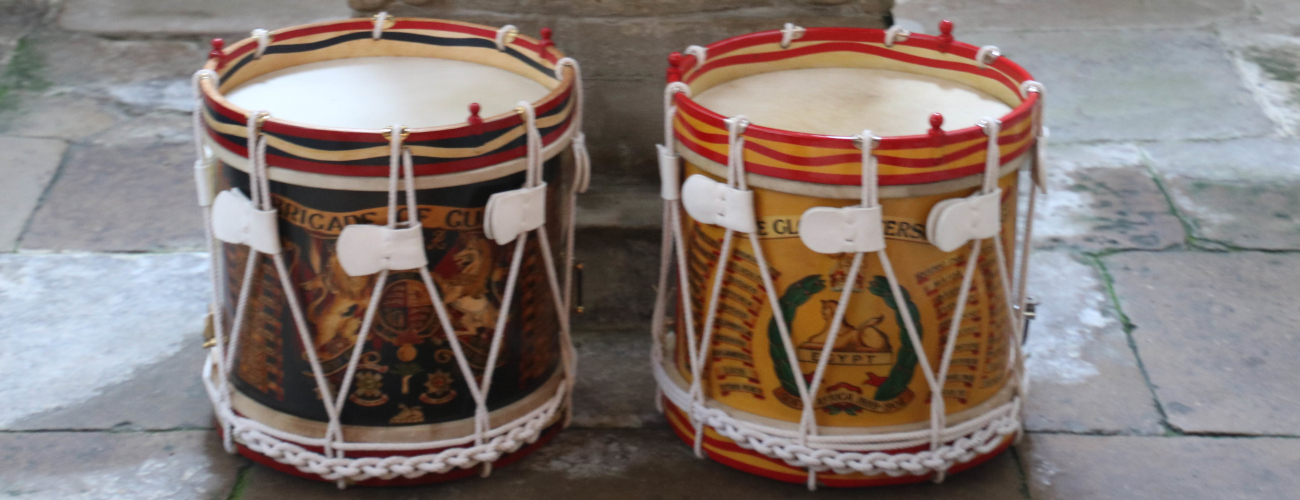 Remembrance drums