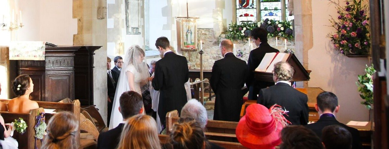 Wedding taking place in St michaels and all angels