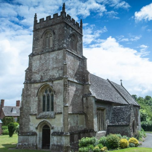 Winterbourne Bassett Parish church